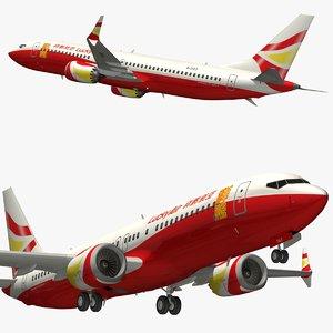 boeing 737 lucky air 3D model