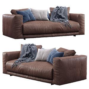 leather sofa moss cor model