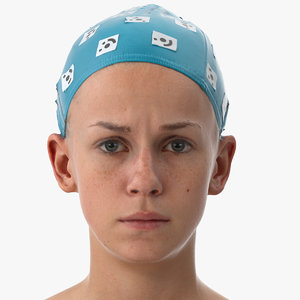 rhea human head inner 3D