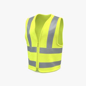 3D safety vest
