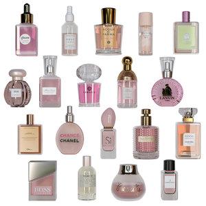 3D cosmetics perfume