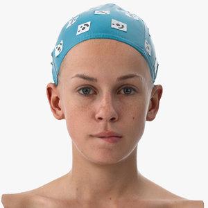 rhea human head lip model