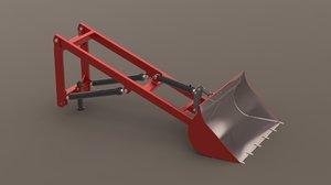 loader tractor model