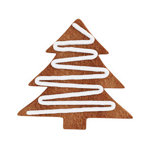 christmas gingerbread cookie 3D model