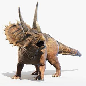 3D pentaceratops horn