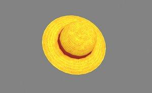 knitcap luffyhat 3D model
