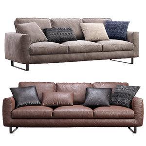 3D model prostoria sofa elegance