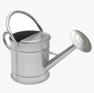 watering gray 3D model