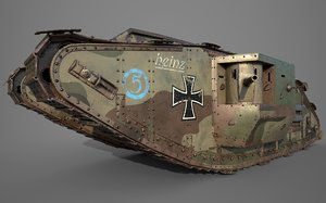 3D tank mark iv male
