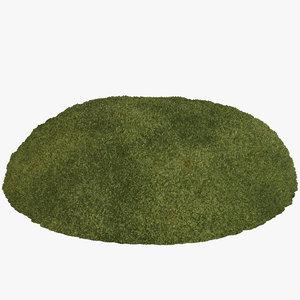 patch moss 3D model