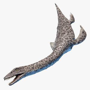 plesiosaurus 3D