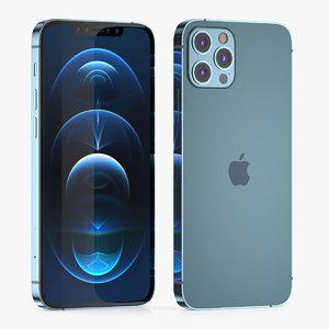 iphone phone 12 3D