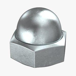 3D cap nut