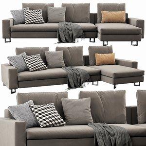 3D molteni c large sofa