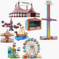 Large Theme Park Collection