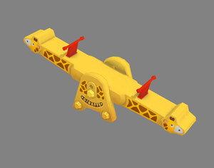 sportsequipment children 3D model