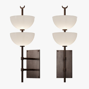 small gilles wall sconce model