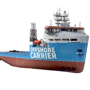 platform supply vessel model