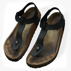3D birkenstock women s sandals
