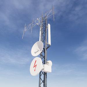 3D network antenna