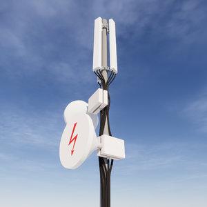 network antenna 3D model