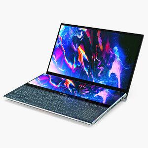 asus zenbook pro dual 3D model