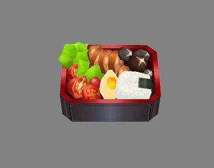 3D food model