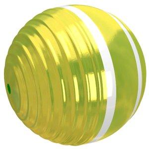 3D croquet ball yellow