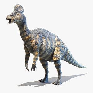 3D corythosaurus