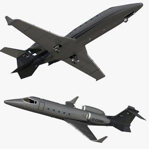 bombardier learjet 60 grk 3D model