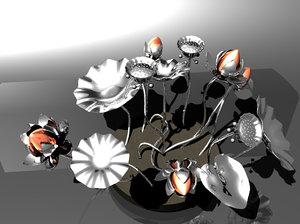 3D centerpiece center piece