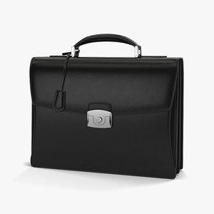 briefcase brief case 3D model
