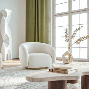3D modern living room sofa