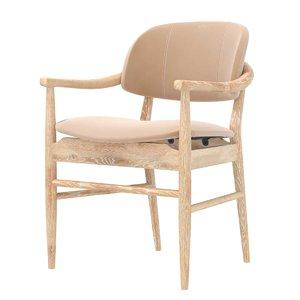 3D chair modern oak