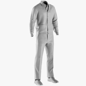 mesh men s pants 3D
