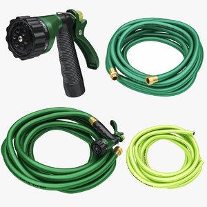 garden hose nozzle 3D model