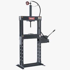 dake manual hydraulic bench press 3D model