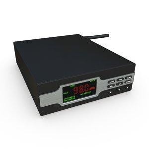 fm transmitter radio broadcaster model