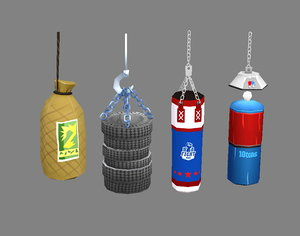 3D sandbags