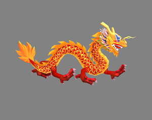 chinese 3D model
