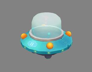 ufo space model