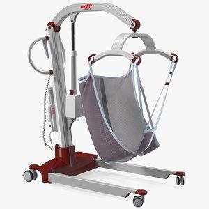 molift mover 205 patient 3D model