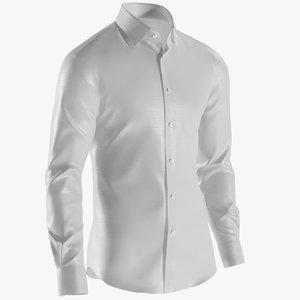 realistic men s shirt 3D model