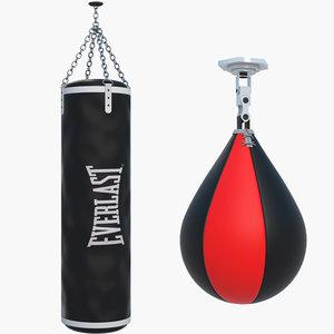 3D punching bags