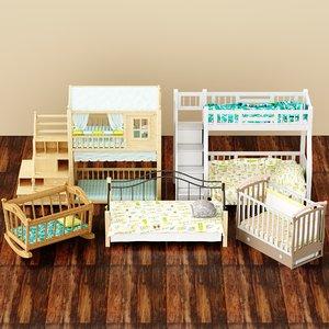 3D crib child