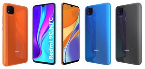 3D xiaomi redmi 9c colors