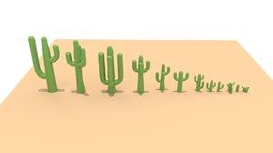 cactus art 3D