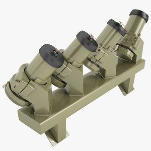 3D 76mm grenade model