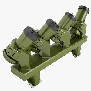 3D model 76mm grenade