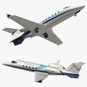 3D model bombardier learjet 60 faa